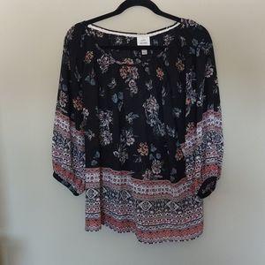 Knox Rose large boho blouse